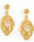 Ellisse Gold Earrings