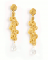 Treccia Gold Earrings