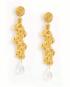 Treccia Gold Earrings