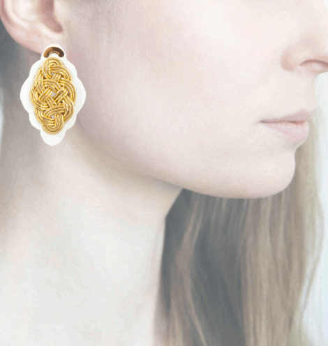 Profile, Anna e Alex, Regina Bianca Collection, Oro, Small, ORRBS1