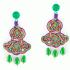 Chandelier Decò earrings