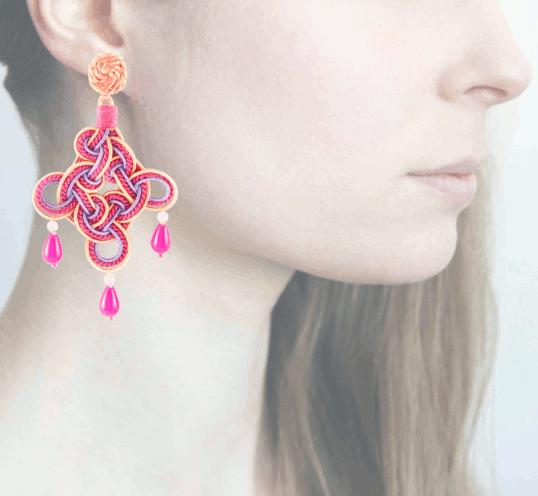 Profile rombo, rosa-fucsia