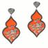 Orecchini Giardino – Arancione