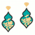 Giardino Earrings – Teal