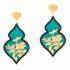 Giardino Earrings – Teal