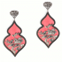 Giardino Earrings – Pink