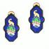 Brasile Earrings – Peacock