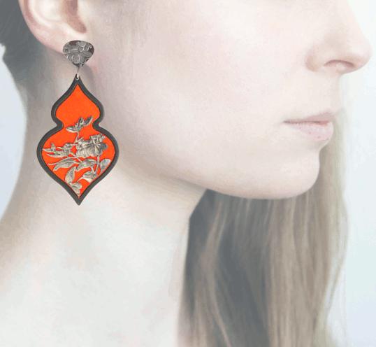Profile Anna e Alex, arte miniatura, resina e argento, ORBIRD10