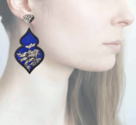 Profile Anna e Alex, arte miniatura, resina e argento, ORBIRD11