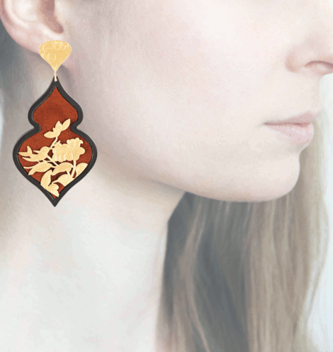 Profile Anna e Alex, arte miniatura, resina e argento, ORBIRD7