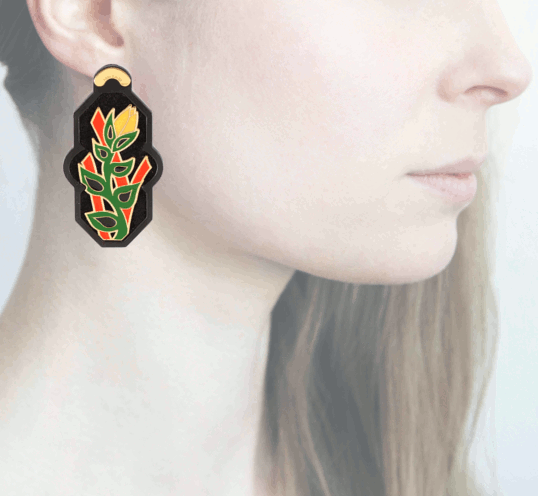 Profile, Anna e Alex, arte miniature, resina, smalto, ORBRA1