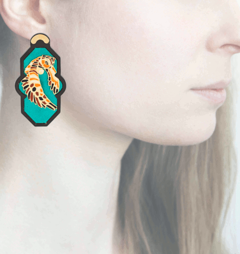 Profile Anna e Alex, arte miniature, resina, smalto, ORBRA12