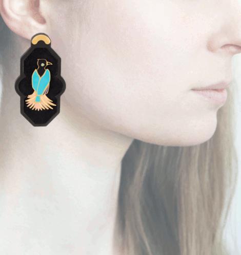 Profile, Anna e Alex, arte miniature, resina, smalto, ORBRA3