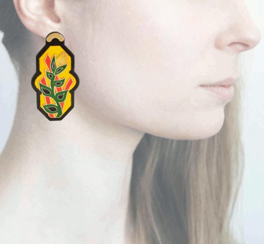 Profile, Anna e Alex, arte miniature, resina, smalto, ORBRA6
