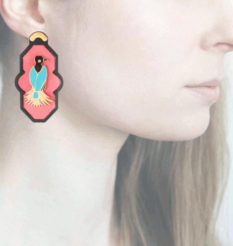 Profile, Anna e Alex, arte miniature, resina, smalto, ORBRA9