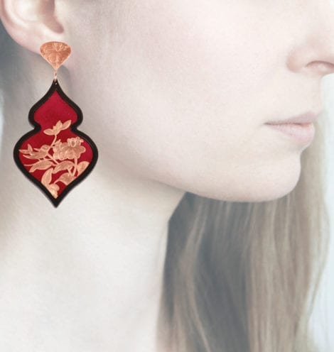 Profile Anna e Alex, arte miniatura, resina e argento, ORBIRD17