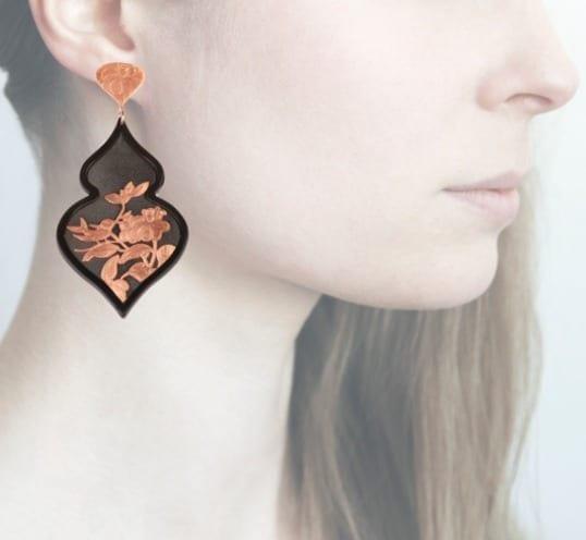 Profile Anna e Alex, arte miniatura, resina e argento, ORBIRD19