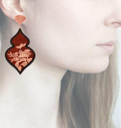 Profile Anna e Alex, arte miniatura, resina e argento, ORBIRD20