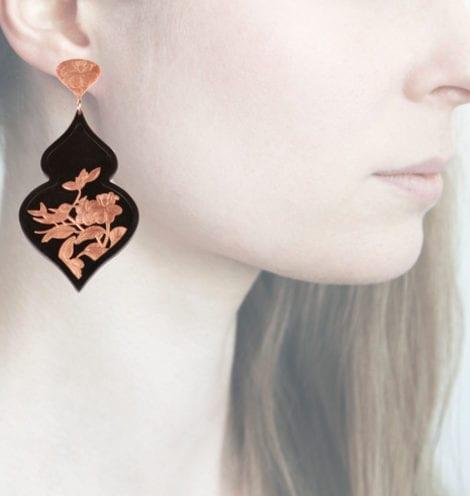 Profile Anna e Alex, arte miniatura, resina e argento, ORBIRD24