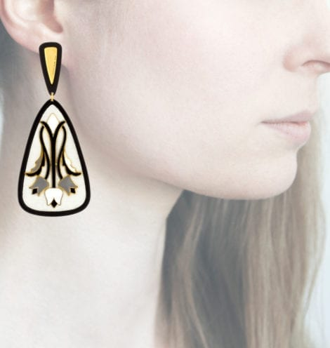 Profile Anna e Alex, arte, miniature, resina, smalto, bianco, ORTUL9