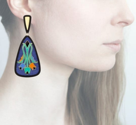 Profile Anna e Alex, arte, miniature, resina, smalto, blu, ORTUL3