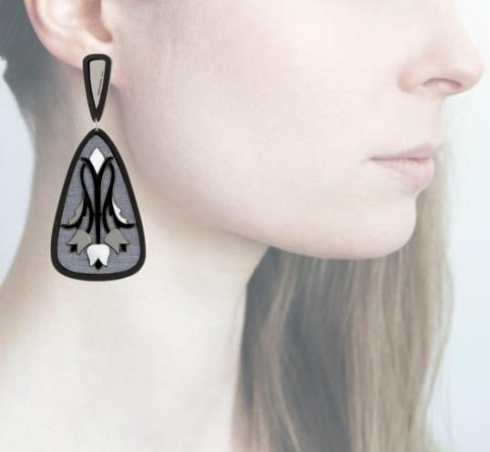Profile Anna e Alex, arte, miniature, resina, smalto, grigio-nero, ORTUL1 (2)