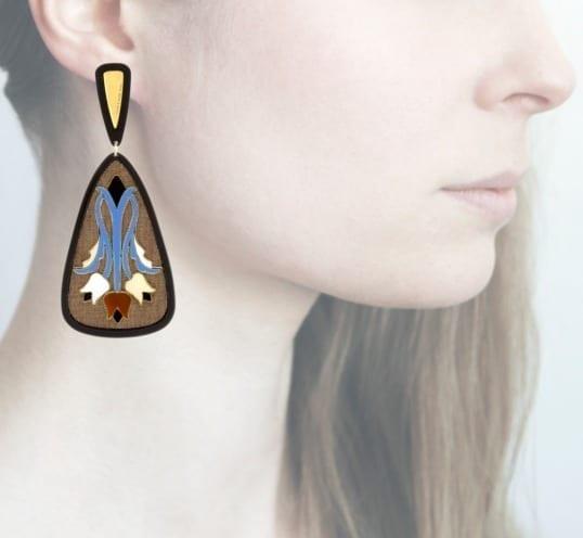Profile Anna e Alex, arte, miniature, resina, smalto, marrone-celeste, ORTUL8