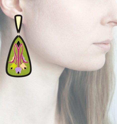 Profile Anna e Alex, arte, miniature, resina, smalto, verde acido, ORTUL6