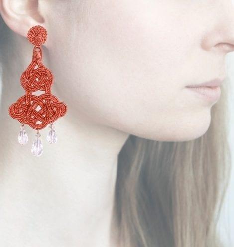 Profile, Anna e Alex, passamaneria, chandelier lamè rosa, rosa, OCHR1