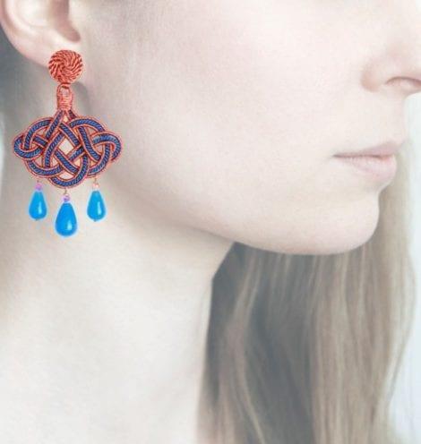 Profile, Anna e Alex, passamaneria, lanterna lamè rosa, blu, OLR6