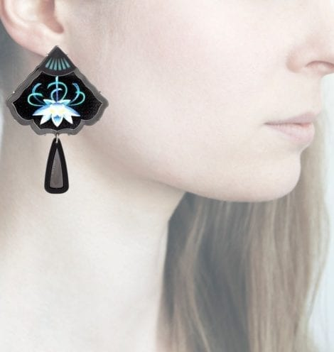 Profile, Anna e Alex, arte miniature, resina, Ninfea, OVFD5