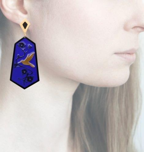 Profile Anna e Alex, arte miniature, resina, smalto, ORCOL1