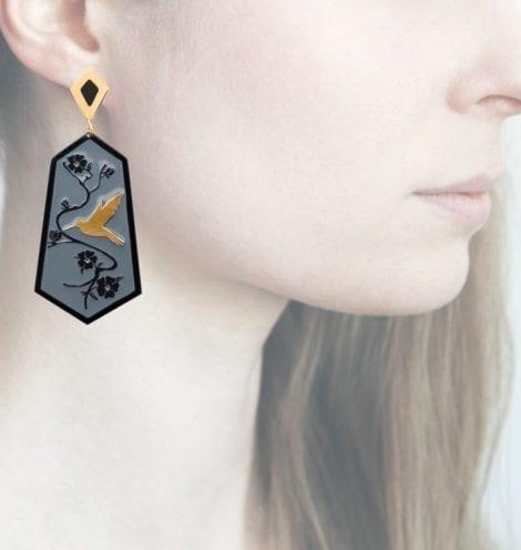 Profile Anna e Alex, arte miniature, resina, smalto, ORCOL10