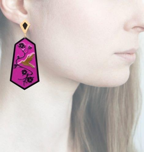Profile Anna e Alex, arte miniature, resina, smalto, ORCOL5
