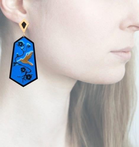 Profile Anna e Alex, arte miniature, resina, smalto, ORCOL6