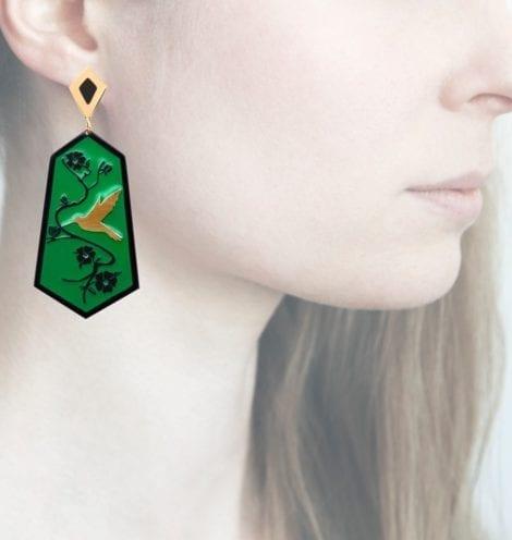 Profile Anna e Alex, arte miniature, resina, smalto, ORCOL8