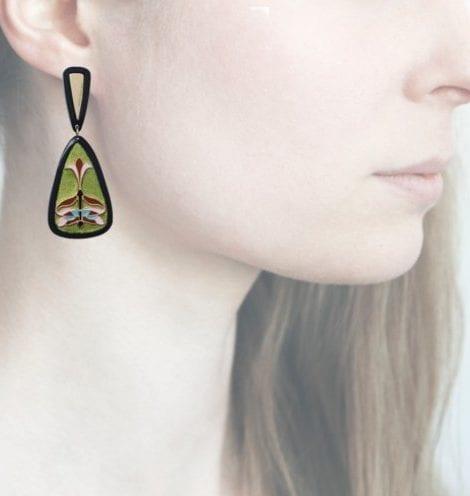 Profile Anna e Alex, arte, miniature, resina, smalto, verde acido, ORLIB7
