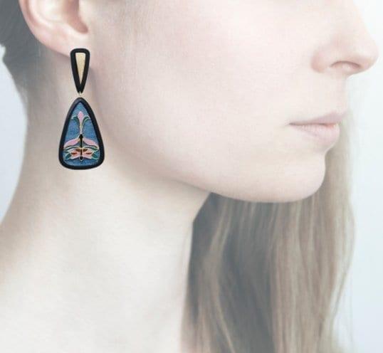 Profile Anna e Alex, arte, miniature, resina, smalto, verde acqua, ORLIB5