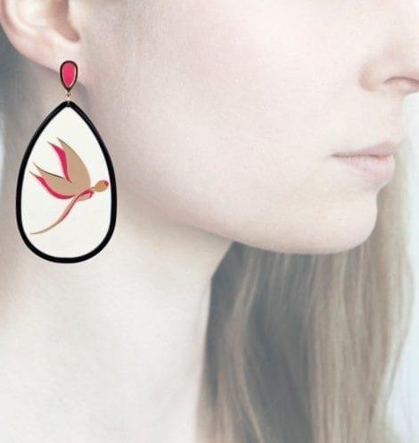 Profile Anna e Alex, arte miniature, resina, smalto, ORLF5