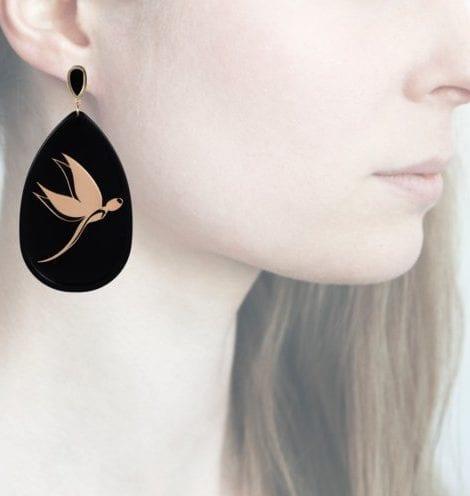 Profile Anna e Alex, arte miniature, resina, smalto, ORLF7
